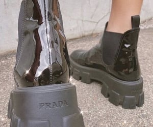boots, Prada, and fashion image