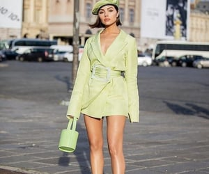 bag, green, and olivia culpo image