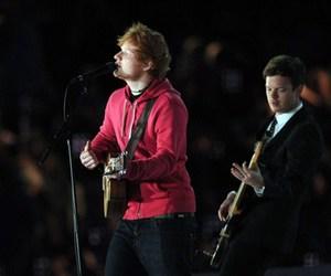 london 2012 and ed sheeran image