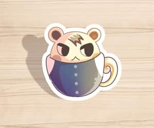 animal crossing, planner sticker, and hydroflask sticker image