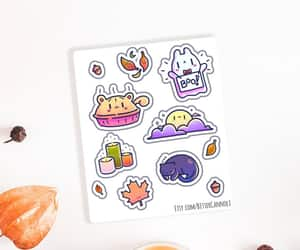 etsy, laptop stickers, and halloween stickers image