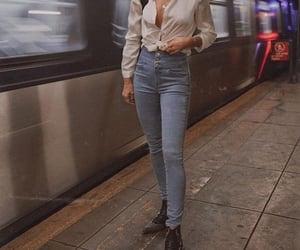 fashion, subway, and underground image