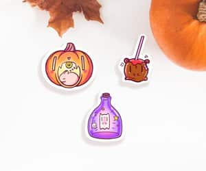 etsy, cute halloween, and laptop stickers image
