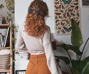 autumn, fashion, and ginger image