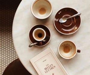 autumn, mug, and book image