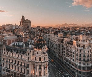 city, travel, and spain image