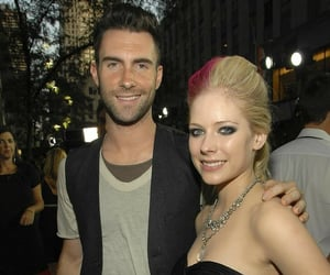 Avril Lavigne, maroon 5, and adam levine image