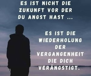 angst, text, and zukunft image