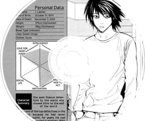 death note, lawliet, and anime icons image