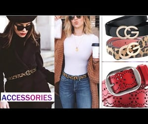 accesories, belts, and fashion image