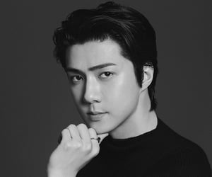 busted, kpop, and oh sehun image