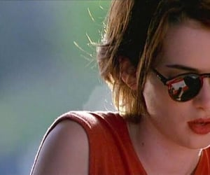 cool, winona ryder, and red image