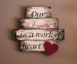 sign, art, and family image
