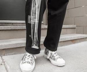 bones, dior, and sneakers image