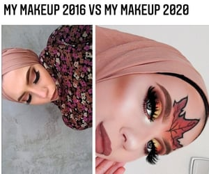 2020, eyes, and fashion image
