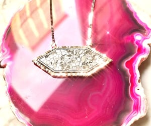 bijoux, jewelry, and pink image