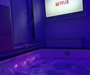 netflix, purple, and aesthetic image
