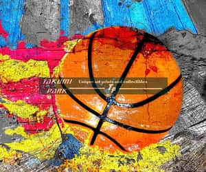etsy, gift ideas, and basketball print image