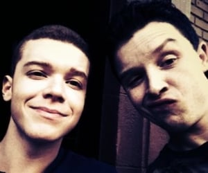 shameless, ian gallagher, and gallavich image