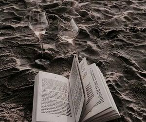 beach, travel, and books image