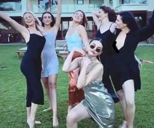 celebrity, selena gomez, and friends image