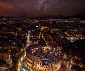 italy, night, and city image