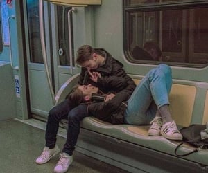 aesthetic, Relationship, and subway image
