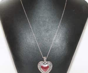 etsy, sweetheart gift, and 18 inch chain image