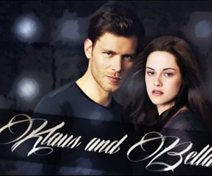 bella swan, klaus mikaelson, and twilight image
