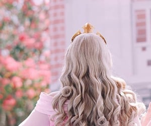 blonde, Briar Rose, and disney world image