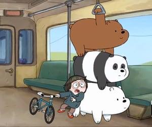 bears, bicycle, and bike image