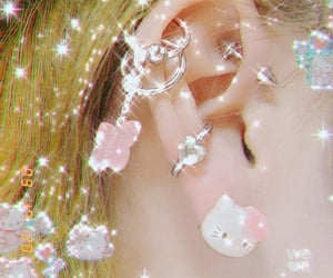 aesthetic, cute, and bling image