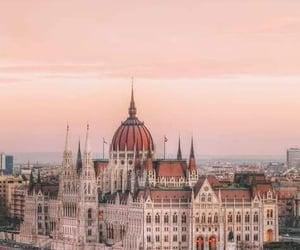 budapest, travel, and wanderlust image