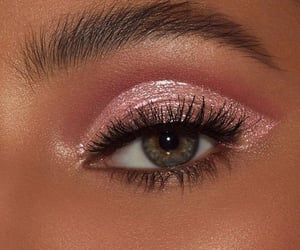 eye, eyebrows, and eyeshadow image