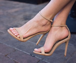 beige, Nude, and sandals image