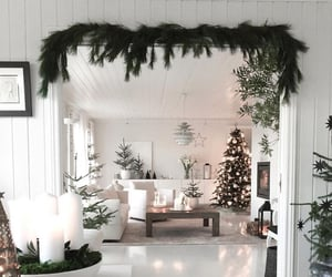 interior, christmas, and home image