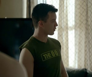 green, shameless, and mickey milkovich image