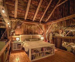 cabin, design, and interior image