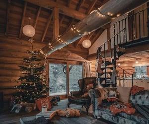 cabin, decor, and interior image