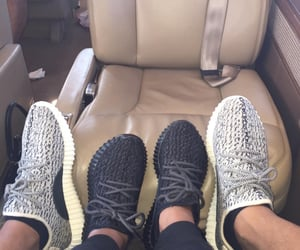 couple and yeezy image