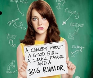 comedy, emma stone, and Penn Badgley image