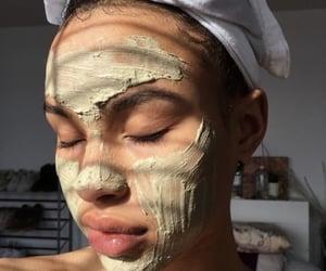 beautiful, mask, and skin image