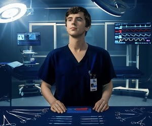 the good doctor and freddie highmore image