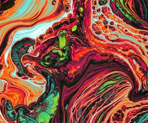 art, colorful, and patterns image
