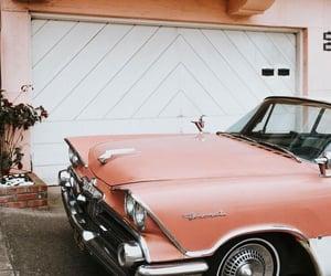 american, car, and retro image