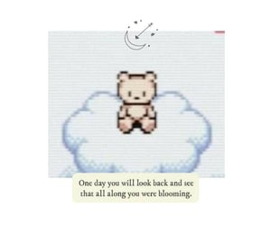 positive, teddy, and wallpaper image