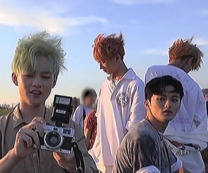 aesthetic, kpop, and mark image