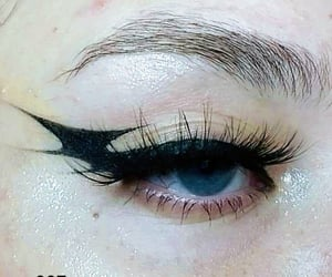 makeup, tumblr, and badgirl image