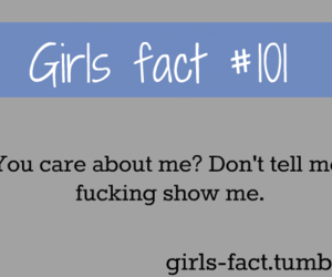 girls fact, care, and girl image