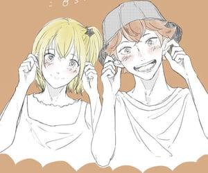 haikyuu, hinata shouyou, and yachi image
